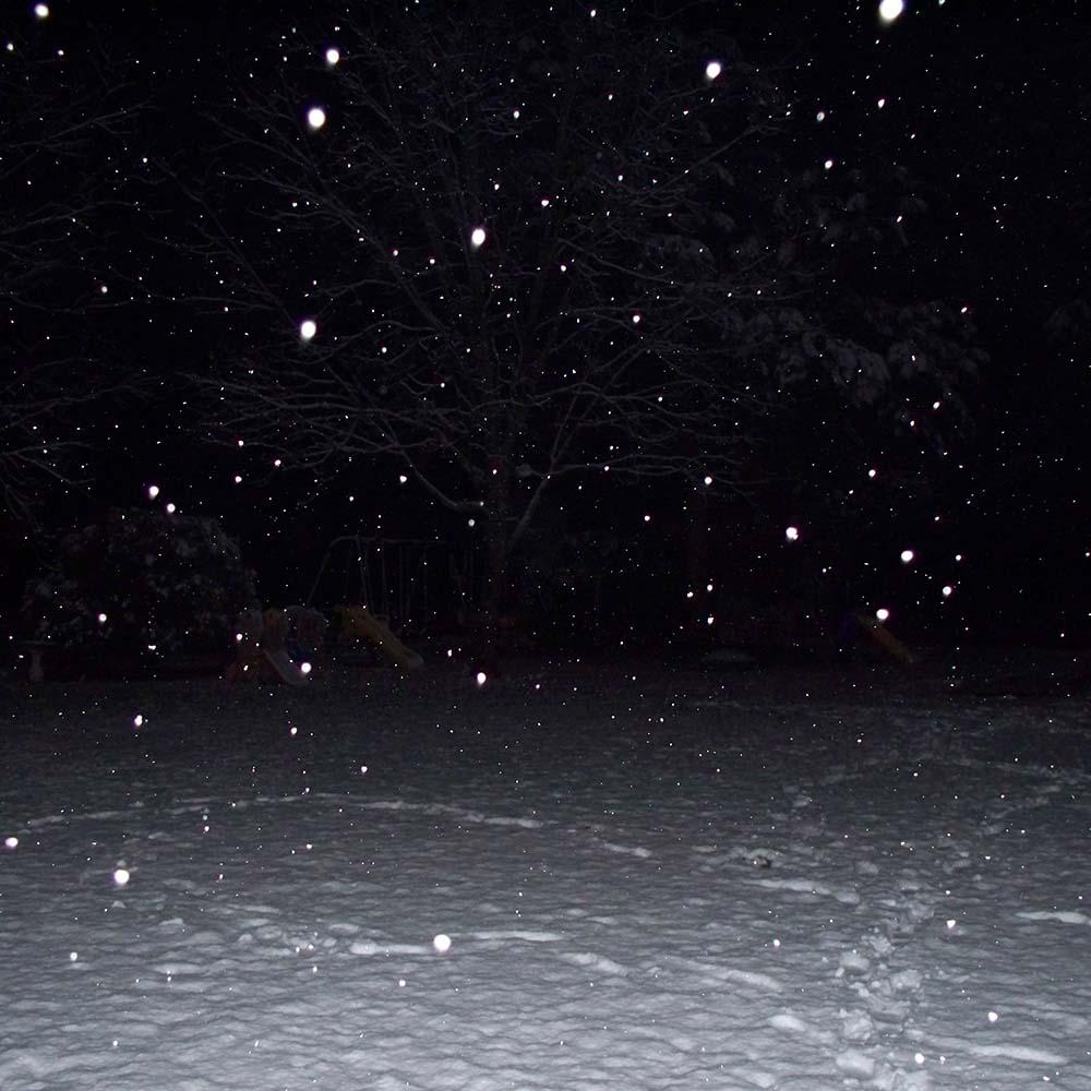 White Lodge 001 | Sparkwood & Twenty One | Snow At Night
