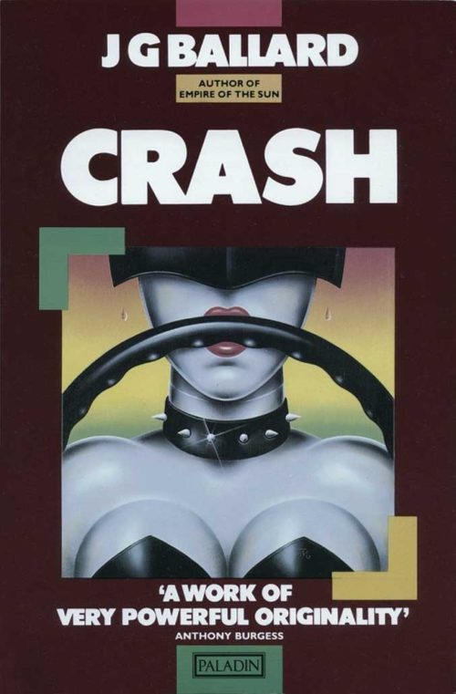 Crash by JG Ballard | Book Cover