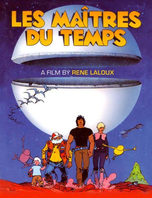 Les Maîtres Du Temps | Cover