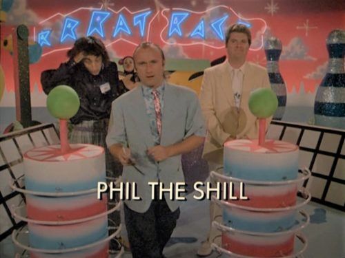 Miami Vice title shot with Phil Collins