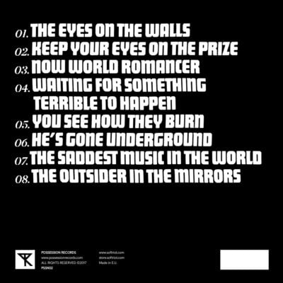 Soft Riot - The Outsider In The Mirrors   Back Cover
