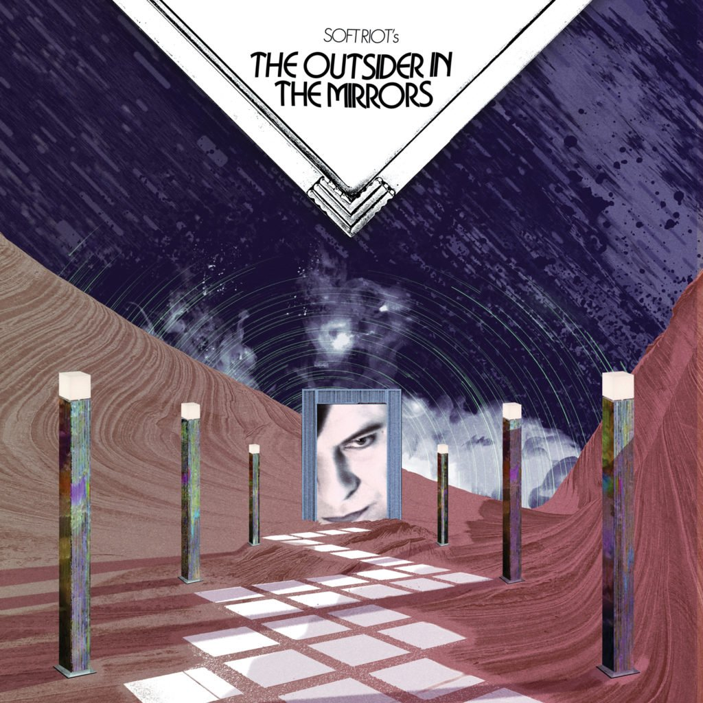 The Outsider In the Mirrors   LP Cover