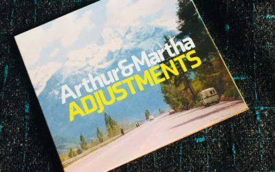 """Arthur & Marta """"Adjustments"""" CD   Cover"""