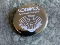 Voidamol 38mm Round Badge | Soft Riot