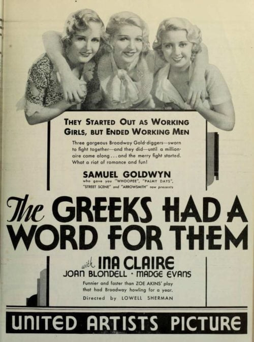 The Greeks Had A Word For Theme | Film Poster