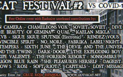 Gothicat Festival #2 | Online Banner