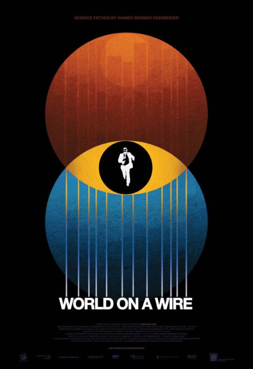 World On A Wire (Welt Am Draht) - Rainer Werner Fassbinder | Film Cover