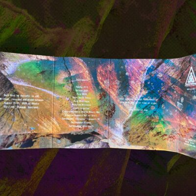 Ostrofti - Sudden Vision Zones - Cassette Inlay Reverse