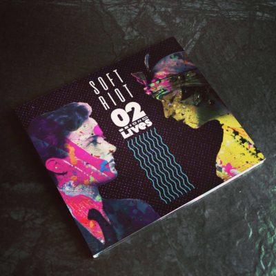SOFT RIOT - Second Lives | Digipak CD cover